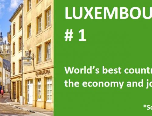 Luxembourg: the world's best country regarding the economy and job security
